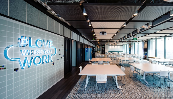#lovewhereyouwork? Oh yes you will. (Image Credit: Ogilvy)