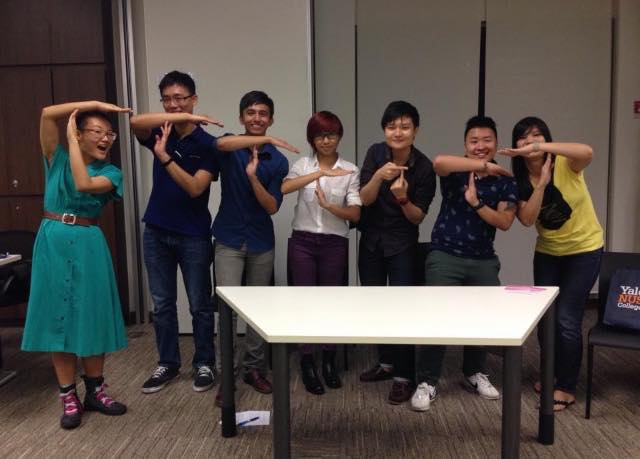 The T Project team, at a panel discussion by Yale-NUS gender collective The G Spot. (Image Credit: The T Project)