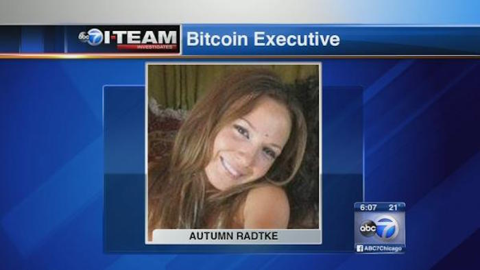 Bitcoin rising star Autumn Radtke. Image Credit: abclocal.go.com