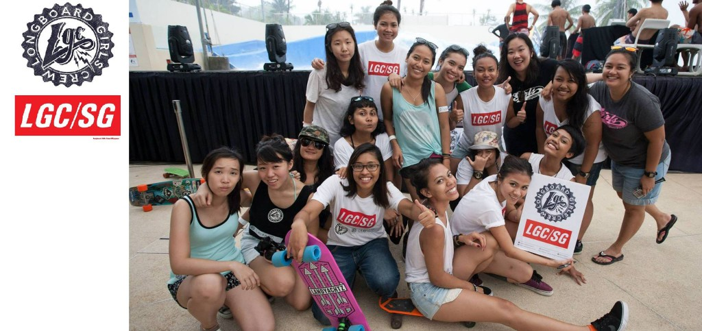 Longboard Girls Crew Singapore at Wave House Sentosa 5th Anniversary