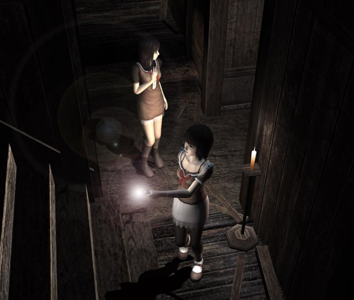 Mio (top) and Mayu (bottom) are both playable characters in Fatal Frame 2. (Image Credit: fatalframe.wikia.com)