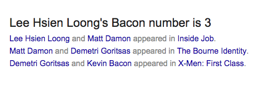 bacon number 11
