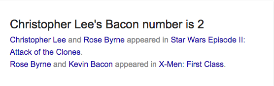 bacon number 9
