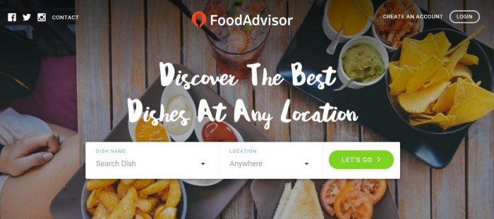 foodadvisor website