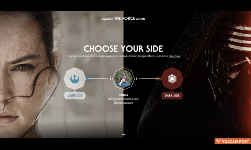 Chrome Extension To Give Google Apps Star Wars Theme