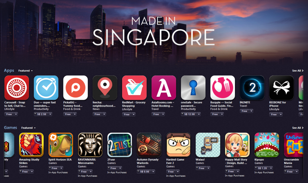 Image: http://iheartapple.com/2014/08/itunes-store-featuring-made-in-singapore-apps-games-and-more/
