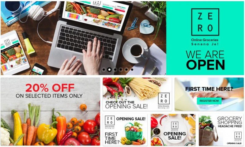 Zero: M'sian Online Grocery Platform With Free Delivery