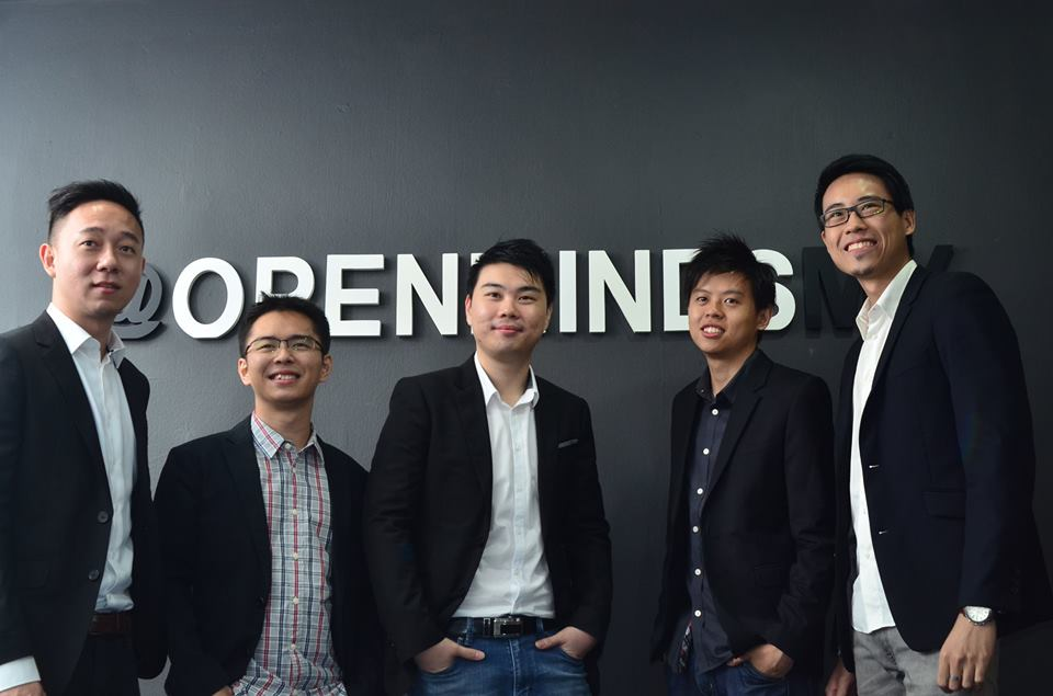 Some of the partners at OpenMinds (Image Credit: Jan Wong)