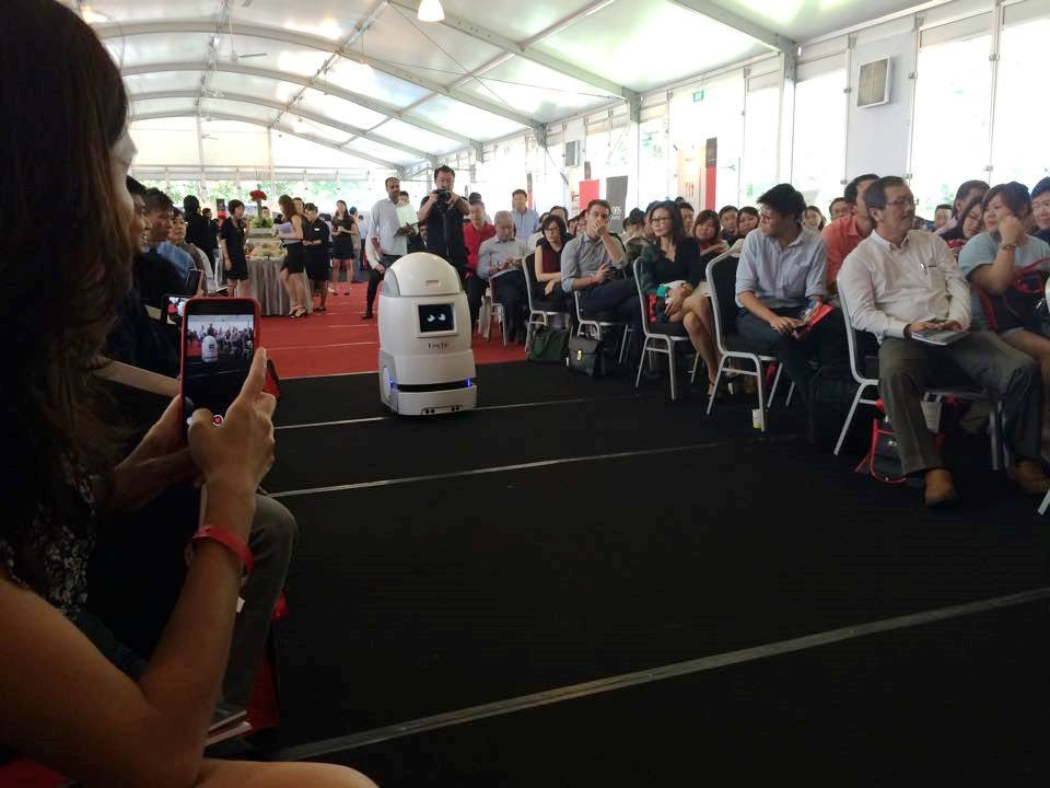 Image Credit: DBS BusinessClass Facebook page – Disrupt at the Bay event