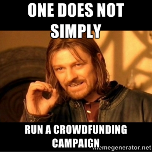 Image result for crowdfunding memes