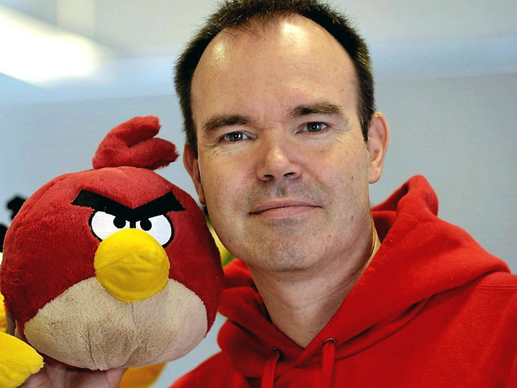Peter Vesterbacka, Cofounder of Rovio / Angry Bird. Image Credit: Startup Nation