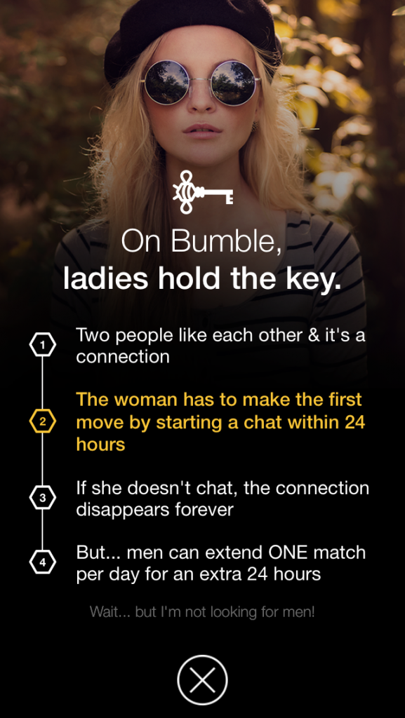 New Dating App Bumble Beelieve Women Should Take The Lead In