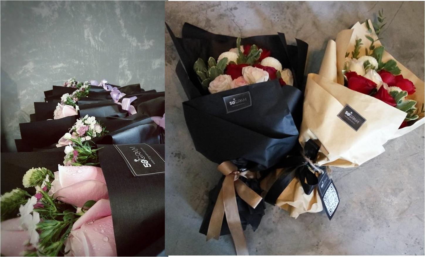 50Gram Creates Bouquets With Personalised Videos For Malaysians