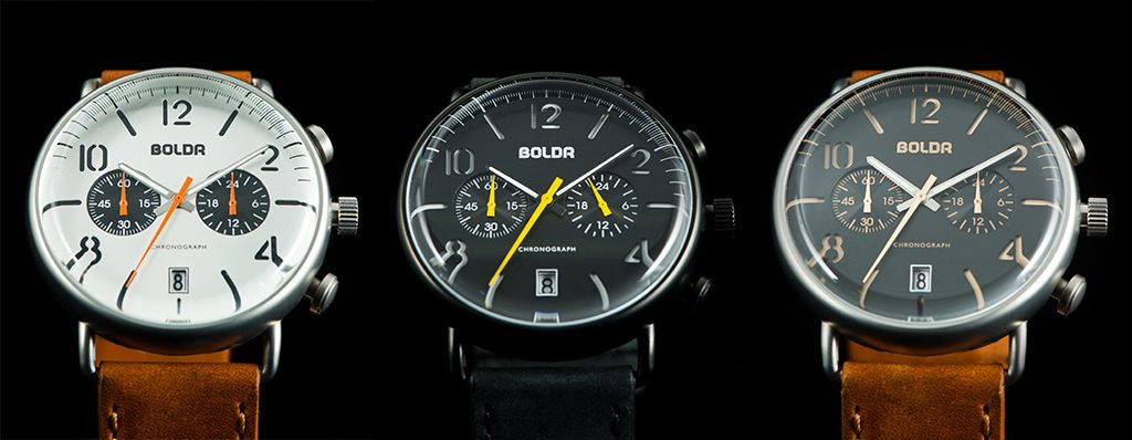 BOLDR Journey available in 3 styles: Sopwith, Wasp or Warhawk
