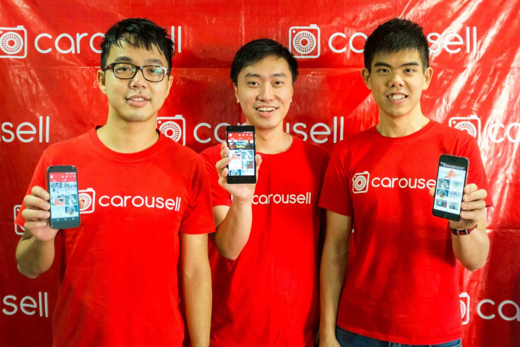 Carousell cofounders