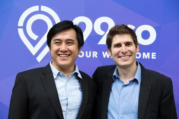 99.co Darius Cheung and investor Eduador Saverin