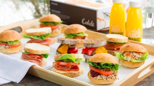 Cedele's mini sandwiches/ Image Credit: CaterSpot