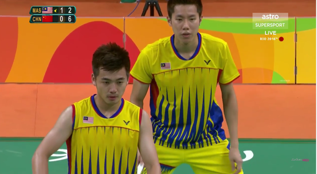 Olympics-China defeat Malaysia for men's doubles gold
