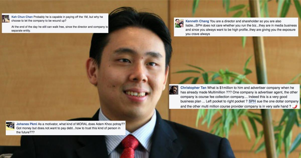 Adam Khoo Rebukes ST's Claims, Netizens Ask Why He Can't Just Pay