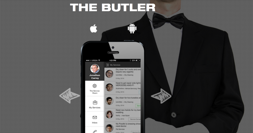 The Butler's website