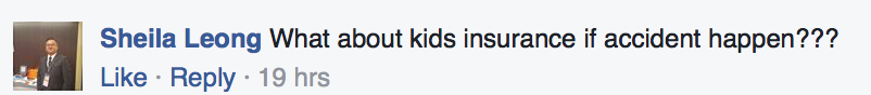 TODAY's Facebook comment on Schoolber