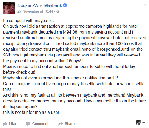 Taken from Maybank Facebook.
