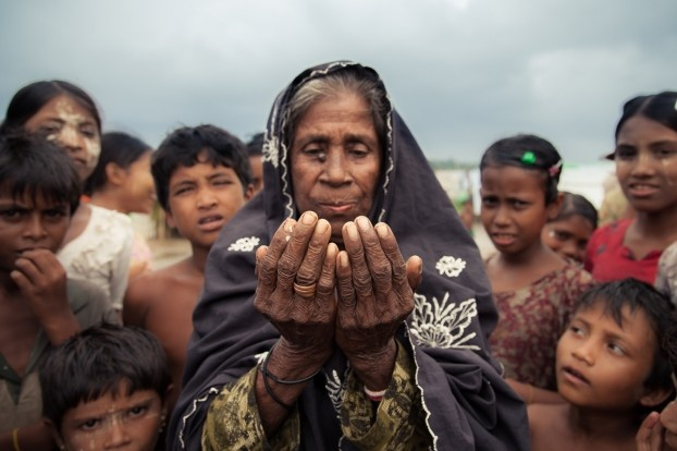 The Rohingya people (Image Credit: Asia News)