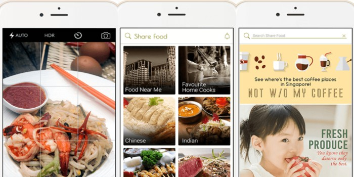 Share Food Mobile Application