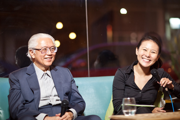 Gwen and President Tony Tan