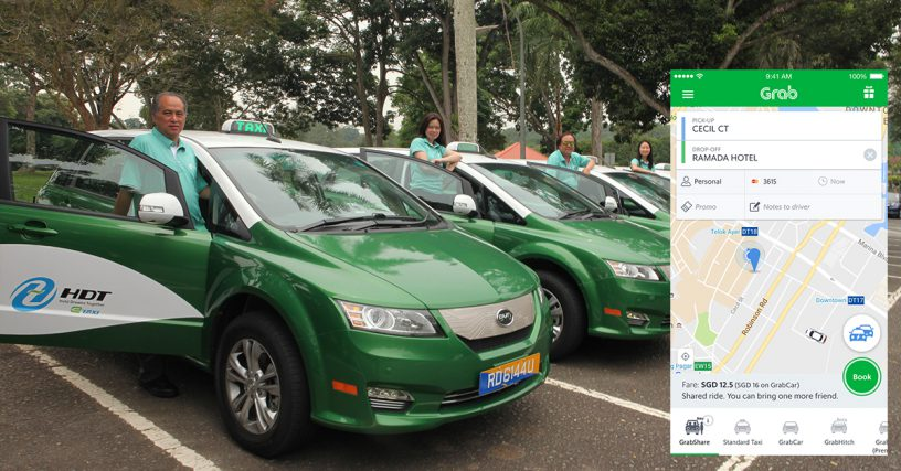Throwback Taxi: Grab brings back taxi-sharing in Singapore