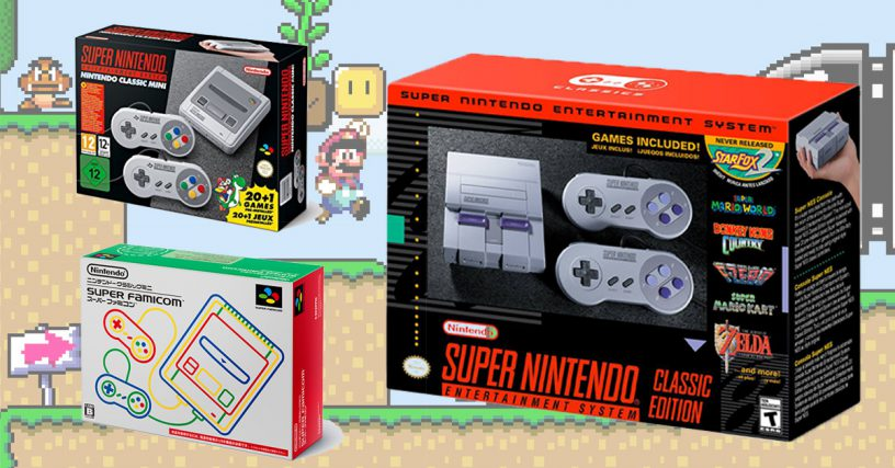 Nintendo unveiled SNES Classic console, to be released later this year