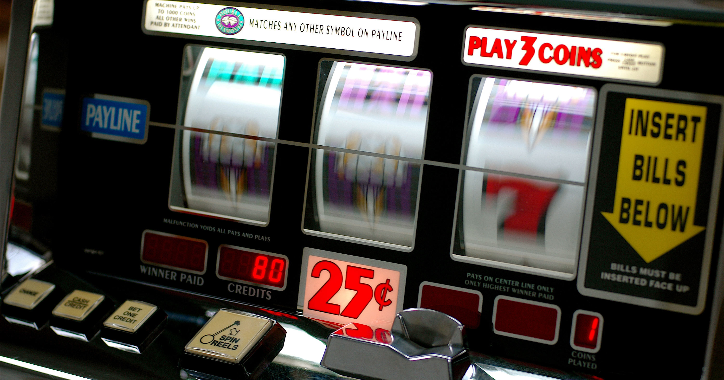 casino slot machine odds of winning