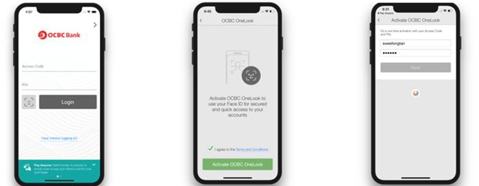 Your Face Is Now Your Password For OCBC's Banking Apps