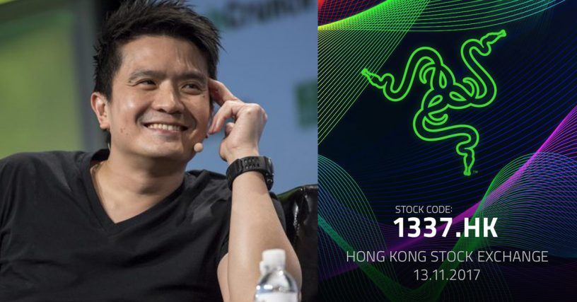 Razer raises $500M from debut on Hong Kong stock exchange