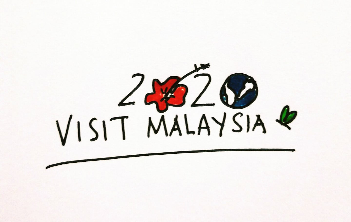 M'sians Are Challenged To Fix The Visit Malaysia 2020 Logo