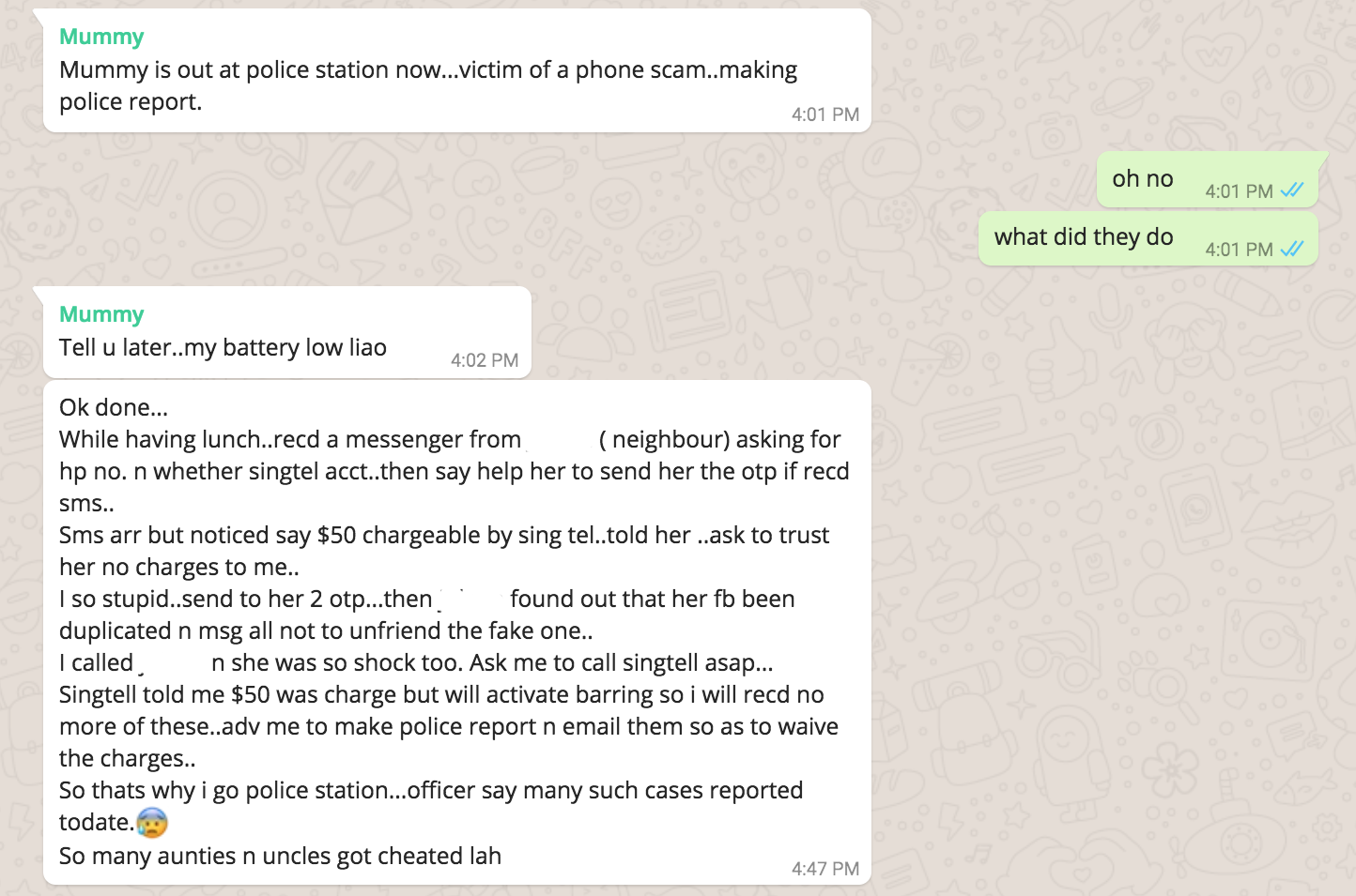 There's A New Facebook Scam Going On In Singapore