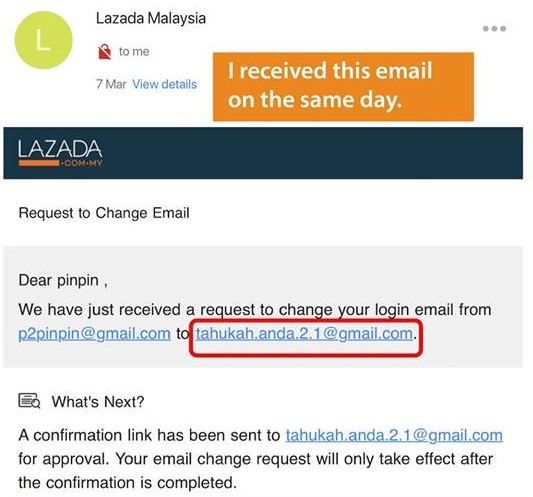 Lazada Malaysia's Security Flaw That Let Scammers Access Account