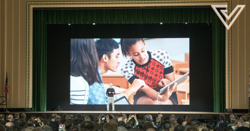 Apple iPad education event