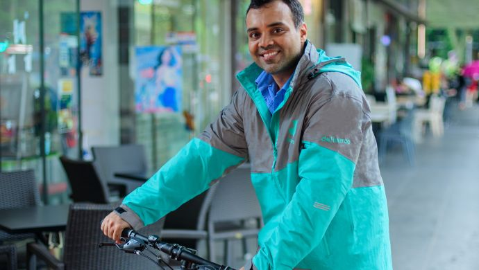 Siddarth Shanker General Manager of Deliveroo Singapore  Image Credit e27