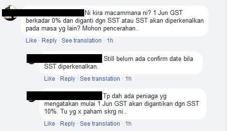 disadvantages of gst in malaysia