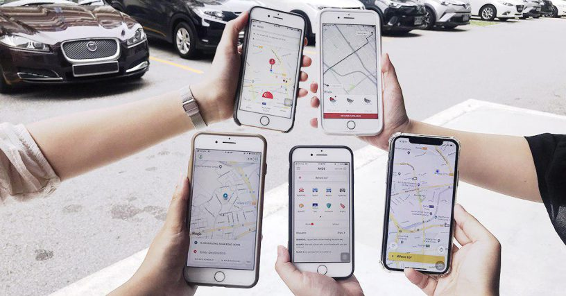 Ride-Hailing Singapore Cheapest Fares – Grab vs Ryde vs Kardi vs TADA | Vucan Post