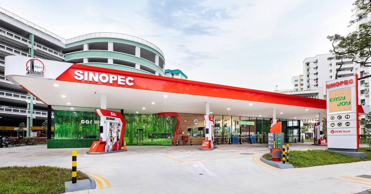 Sinopec Opens First Singapore Petrol Kiosk In Yishun