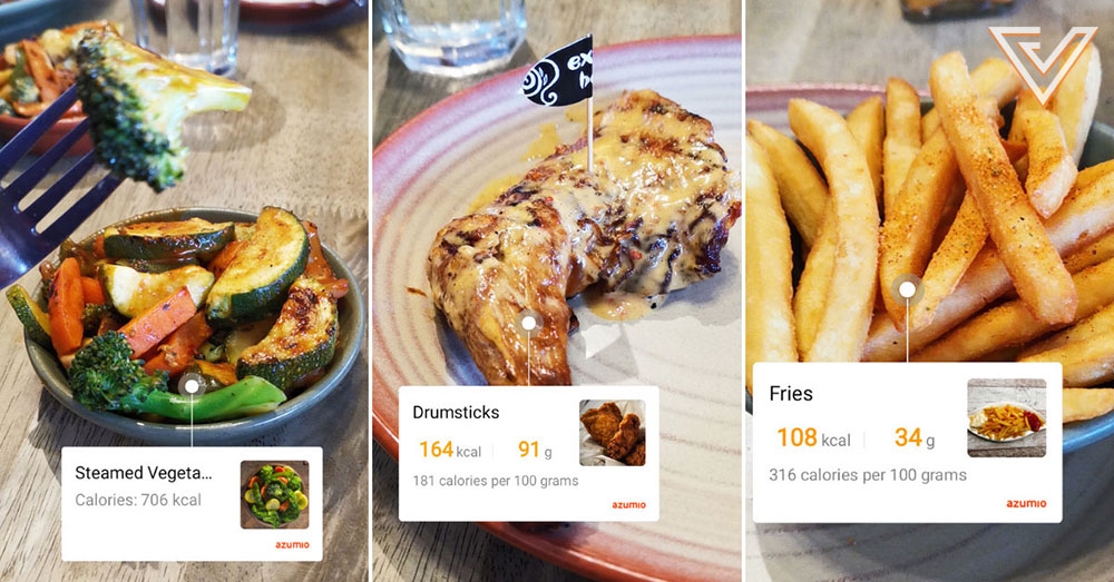 I Let Huawei's HiVision Feature Count The Calories Of My Meals