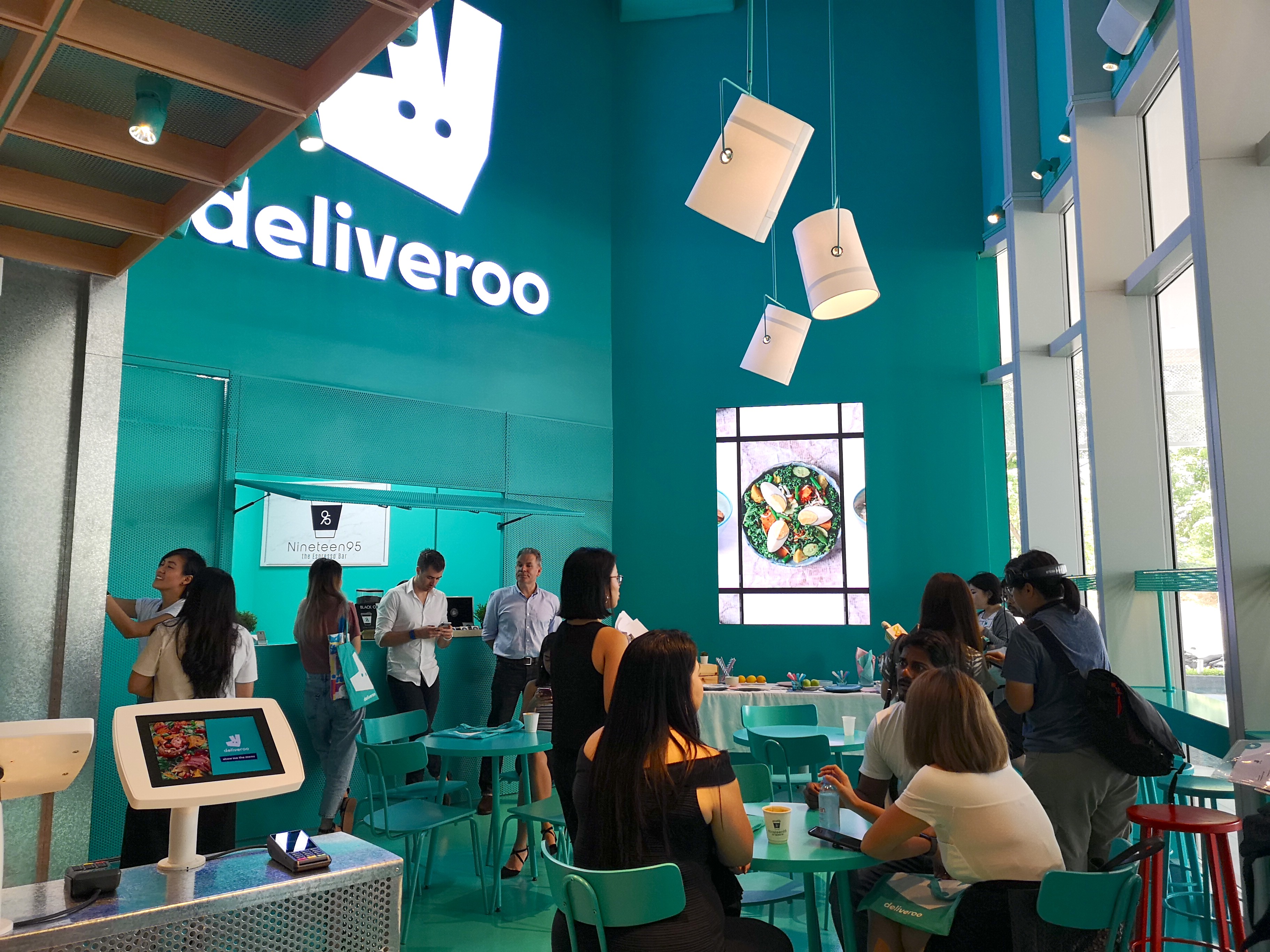 deliveroo food market singapore