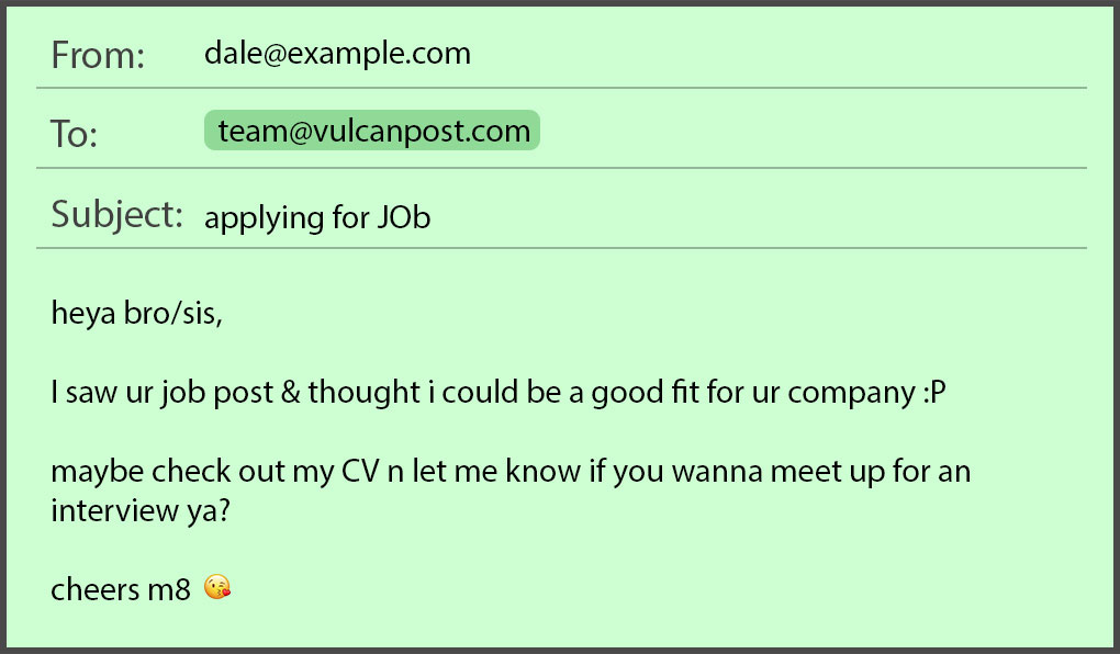 Common Job Application Mistakes In Emails Resumes By Job Seekers