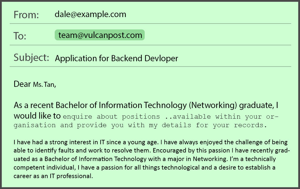 Common Job Application Mistakes In Emails Resumes By