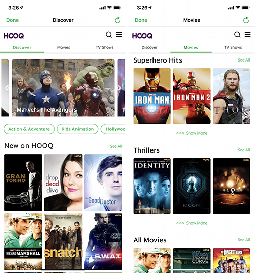 grab hooq videos movies online streaming
