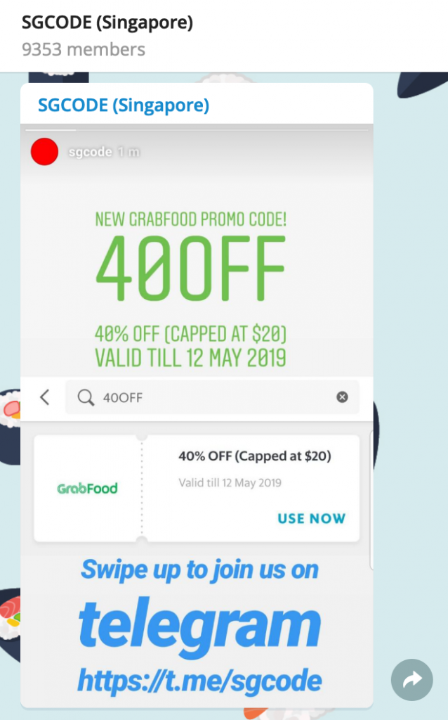 From Promo Codes To Jobs: 24 Telegram Channels S'poreans
