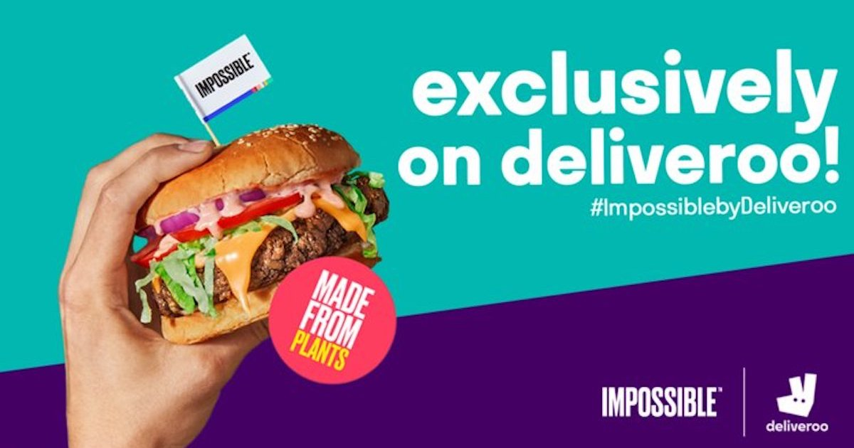 deliveroo impossible foods