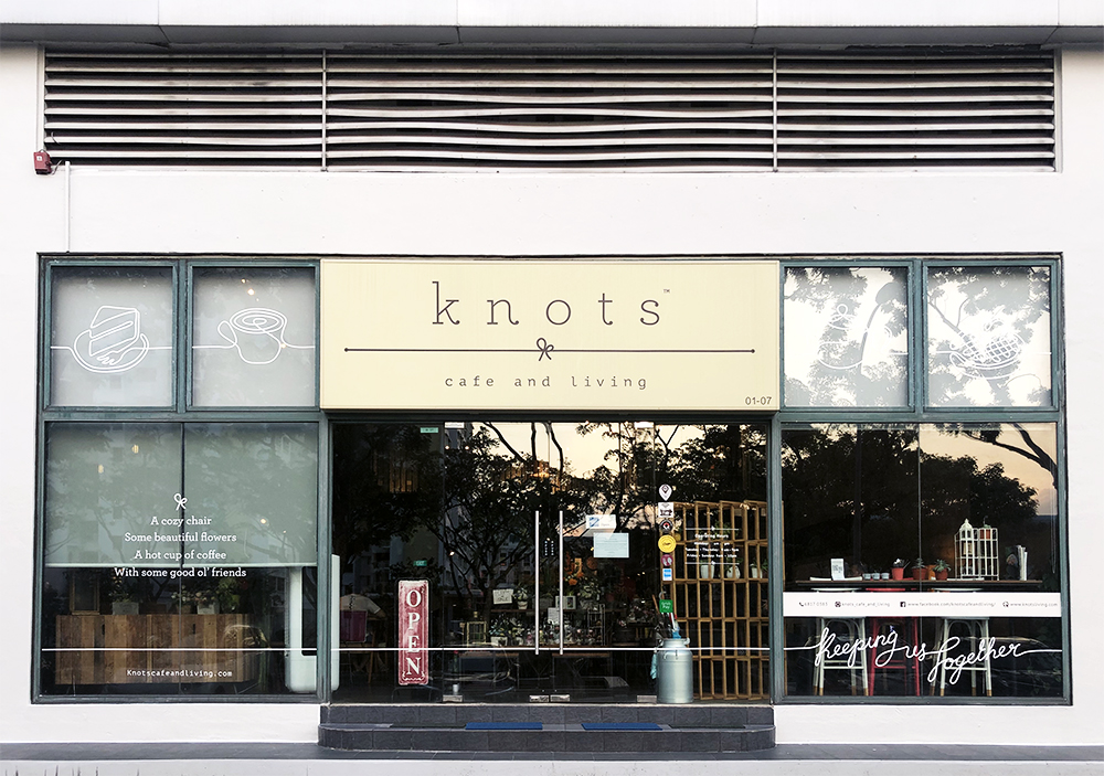 knots cafe and living singapore